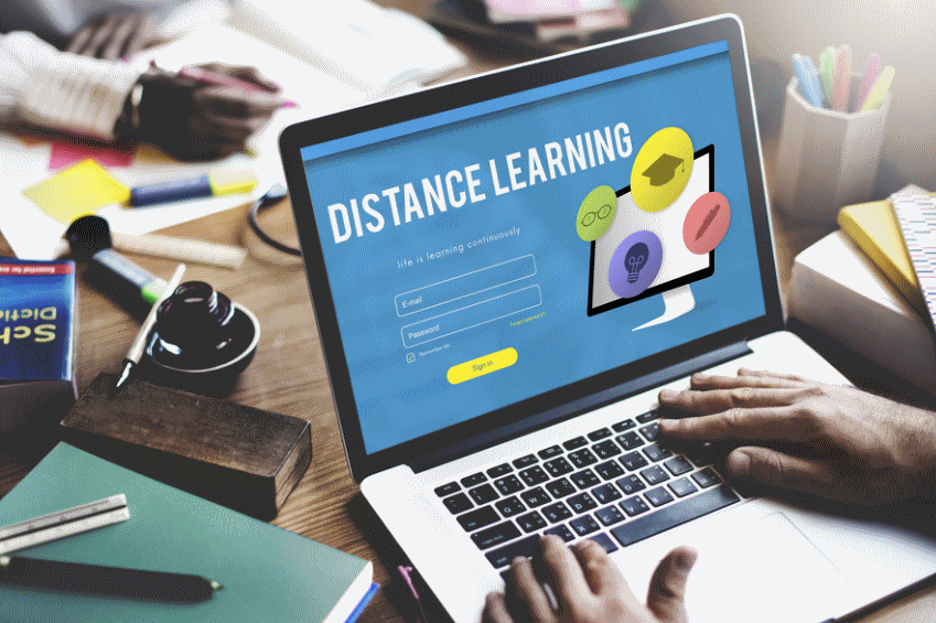master's in distance learning